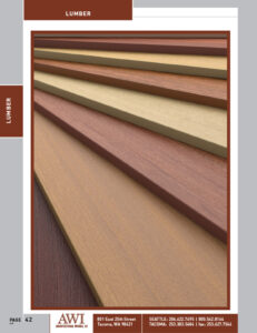 Architectural Woods Catalog (Lumber)