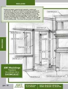 Architectural Woods Catalog (Moulding)