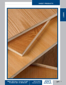 Architectural Woods Catalog (Sheet Products)
